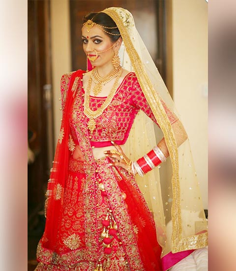Bridal Makeup Artist in Delhi Ncr
